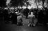 Public prayer near Marble Arch. London (England), 1958. © Jean Mounicq/Roger-Viollet
