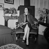 Suzanne Flon (1918-2005), French actress. France, circa 1950. © Gaston Paris / Roger-Viollet
