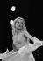 Sylvie Vartan on rehearsing. Paris, Palais des Congrès, 1977. © Patrick Ullmann/Roger-Viollet