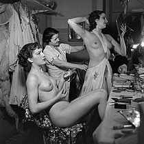 Loges des Folies-Bergère. Paris, 1937. © Gaston Paris / Roger-Viollet