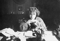 Colette (1873-1954), French writer, June 1937. © Albert Harlingue/Roger-Viollet