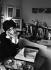 Inès de la Fressange (born in 1957), French model. France, 1993. Photograph by Janine Niepce (1921-2007). © Janine Niepce / Roger-Viollet