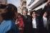 Yasser Arafat (1929-2004), head of the Palestine Liberation Organization. Lebanon, 1983.      © Françoise Demulder / Roger-Viollet