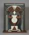 "Auguste Herbin (1882-1960). ""Relief polychrome"". Bois peint, 1920. Paris, musée d'Art moderne. © Musée d'Art Moderne/Roger-Viollet"