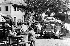 World War II. Exodus. Refugees in a camp. Rambouillet (Yvelines), 1940. © Roger-Viollet