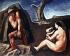 "Mario Sironi (1885-1961). ""La famille du berger"". Galerie nationale d'art moderne, Rome (Italie). © Alinari/Roger-Viollet"