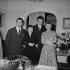 Edith Piaf, André Dassary, Robert Lamoureux et Patachou, vers 1953. © Roger-Viollet