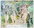 """Raoul Dufy (1877-1953). """"La Seine, l''Oise et la Marne"""". Aquarelle, gouache et graphite sur papier vélin d''Arches, 1938. Paris, musée d''Art moderne. © Musée d'Art Moderne/Roger-Viollet"""