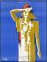 """Guerre 1939-1945. """"La Libération"""", 1944. Affiche de Paul Colin (1892-1985). Imprimerie Lafayette, Paris, 1944. Mémorial du Maréchal Leclerc de Hauteclocque et de la Libération de Paris, musée Jean Moulin. © Mémorial Leclerc - Musée Jean Moulin/Roger-Viollet"""