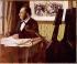 Edgar Degas (1834-1917). Louis-Marie Pilet (1815-1877), cellist of the Paris Opera, 1868-1869. Paris, musée d'Orsay. © Roger-Viollet