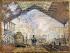 Claude Monet (1840-1926). The gare Saint-Lazare train station. Paris, musée d'Orsay. $$$ © Roger-Viollet