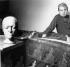 Francis Bacon (1909-1992), peintre irlandais, 1980.  © Jorge Lewinski/TopFoto/Roger-Viollet