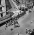 World War II. Liberation of Paris. Barricade, rue de Rennes. Paris (Vth arrondissement), on August 25, 1944. © Pierre Jahan/Roger-Viollet