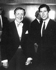 Vladimir Horowitz (1904-1989), pianiste américain d'origine russe, avec le prince Charles. Londres (Angleterre), Royal Festival Hall, 1982.  © Clive Barda/TopFoto/Roger-Viollet
