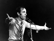 Charles Aznavour (1924-2018), Armenian-born French singer-songwriter and actor, 1972. © Ullstein Bild / Roger-Viollet