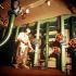 Employé recherchant d'éventuelles fuites radioactives dans le réacteur de la centrale hydroélectrique de Riga construite sur le fleuve Daugava. Salaspils (Lettonie). © TopFoto/Roger-Viollet