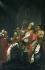 """""""Saint Rémi de Reims baptisant Clovis Ier en présence de son épouse Sainte Clotilde (465-545), vers 498"""". Huile sur toile. Florence (Italie), église de Saint-Rémi. © Iberfoto / Roger-Viollet"""