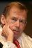 Vaclav Havel (1936-2011), homme d'Etat et écrivain tchécoslovaque, 16 juin 2005. © Ullstein Bild/Roger-Viollet