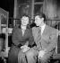 "Edith Piaf et Robert Lamoureux dans ""La P'tite Lily"" de Marcel Achard. Paris, théâtre de l'ABC, mars 1951. © Studio Lipnitzki / Roger-Viollet"
