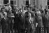 Le gouvernement Pierre Mauroy. Paris, 1981. © Jacques Cuinières / Roger-Viollet