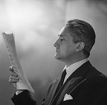 Roger Désormière (1898-1963), French conductor and composer. © Boris Lipnitzki / Roger-Viollet