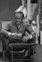 Guy Lux (1919-2003), animateur de radio et télévision. © Jacques Cuinières / Roger-Viollet