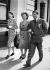 Vivien Leigh (1913-1967), actrice britannique, et son époux Laurence Olivier (1907-1989), acteur et réalisateur anglais, lors d'une tournée en Australie, 1948. © TopFoto / Roger-Viollet