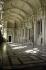 """Quai de l'Horloge, quai des Orfèvres. """"Palais de justice. Vestibule de Harlay. Moitié vers le nord (à gauche de l'escalier)"""". Paris (Ier arr.). Photographie d'André Bondil (1918-2009). Diapositive. 24 mai 1991. Paris, bibliothèque de l'Hôtel de Ville. Paris, bibliothèque de l'Hôtel de Ville. © André Bondil / BHdV / Roger-Viollet"""