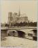 Chevet de la cathédrale Notre-Dame. Paris (IVème arr.). Photographie anonyme. Tirage sur papier albuminé. Paris, musée Carnavalet. © Musée Carnavalet / Roger-Viollet