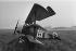 Guerre 1914-1918. Chasseur triplan allemand Fokker Dr 1 de 1917. Ce fut l'avion de Manfred von Richthofen (1892-1918), aviateur allemand. © Jacques Cuinières / Roger-Viollet