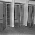 Mise en service de la prison de Fleury-Mérogis (Essonne). Avril 1968. © Jacques Cuinières / Roger-Viollet