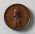 Attribué à Johann Christian Reich (1740-1814). Médaille à l'éffigie de Thomas Jefferson (1743-1826), homme d'Etat américain. Bronze, 1801. © TopFoto / Roger-Viollet