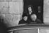 "Yvonne de Gaulle (1900-1979) entering the mass. Colombey-les-Deux-Eglises (France), on November 22, 1970. Photograph by Bernard Charlet, from the collections of the French newspaper ""France-Soir"". Bibliothèque historique de la Ville de Paris. © Bernard Charlet / BHVP / Roger-Viollet"