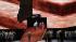 """Boris Godounov"", three-act opera by Modest Petrovich Mussorgsky. Conductor : Vladimir Jurowski. Direction : Ivo Van Hove. Stage design and lights : Jan Versweyveld. Orchestra and chorus : Opéra National de Paris. Alexander Tsymbalyuk, Boris Pinkhasovich, Evdokia Malevskaya, Maxim Paster and Ruzan Mantashyan. Paris, Opéra Bastille, on June 1st, 2018. © Colette Masson / Roger-Viollet"