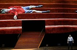 """Boris Godounov"", three-act opera by Modest Petrovich Mussorgsky. Conductor : Vladimir Jurowski. Direction : Ivo Van Hove. Stage design and lights : Jan Versweyveld. Orchestra and chorus : Opéra National de Paris. Alexander Tsymbalyuk. Paris, Opéra Bastille, on June 1st, 2018. © Colette Masson / Roger-Viollet"