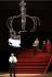 """Boris Godounov"", three-act opera by Modest Petrovich Mussorgsky. Conductor : Vladimir Jurowski. Direction : Ivo Van Hove. Stage design and lights : Jan Versweyveld. Orchestra and chorus : Opéra National de Paris. Alexander Tsymbalyuk, Boris Pinkhasovich, Evdokia Malevskaya, Ruzan Mantashyan and Maxim Paster. Paris, Opéra Bastille, on June 1st, 2018. © Colette Masson / Roger-Viollet"