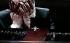 """Boris Godounov"", three-act opera by Modest Petrovich Mussorgsky. Conductor : Vladimir Jurowski. Direction : Ivo Van Hove. Stage design and lights : Jan Versweyveld. Orchestra and chorus : Opéra National de Paris. Alexander Tsymbalyuk and Evdokia Malevskaya. Paris, Opéra Bastille, on June 1st, 2018. © Colette Masson / Roger-Viollet"