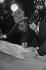 Wedding of Sophie Daumier (1936-2020) and Guy Bedos (1934-2020), February 19, 1965. Photograph by André Grassart (born in 1935). Fonds France-Soir. Bibliothèque historique de la Ville de Paris. © André Grassart / BHVP / Roger-Viollet