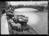 """Crue de la Seine et de ses affluents. Le port du Louvre. Paris (Ier arr.), mardi 30 décembre 1919. Photographie du journal """"Excelsior"""". © Excelsior – L'Equipe / Roger-Viollet"""