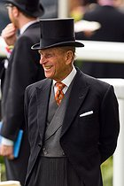 DomL_Ascot_Day2_032.JPG. Dominic Lipinski. Horse Racing - The Royal Ascot Meeting 2015 - Day Two - Ascot Racecourse. The Duke of Edinburgh during day two of the 2015 Royal Ascot Meeting at Ascot Racecourse, Berkshire. PRESS ASSOCIATION Photo. Picture date: Wednesday June 17, 2015. See PA story RACING Ascot. Photo credit should read: Dominic Lipinski/PA Wire. RESTRICTIONS: Use subject to restrictions. Editorial use only, no commercial or promotional use. No private sales. Call +44 (0)1158 447447 for further information. 20150617. © Dominic Lipinski / PA Archive / Roger-Viollet