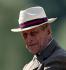 """Le prince Philip (né en 1921), prince consort du Royaume-Uni et époux de la reine Elisabeth II, lors du """"Royal Windsor Horse Show"""". Windsor (Angleterre), 18 mai 2014. © PA Archive / Roger-Viollet"""