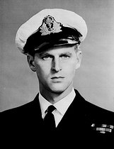 PRINCE PHILIP. PA. Royalty - Duke of Edinburgh - Royal Navy - Portsmouth. The Duke of Edinburgh, who is a serving officer in the Royal Navy. 19461205. © PA Archive / Roger-Viollet