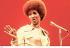 Aretha Franklin (1942-2018), auteur-compositeur et interprète américaine, début des années 1970. Photo : Andrew Kent. © Andrew Kent / TopFoto / Roger-Viollet