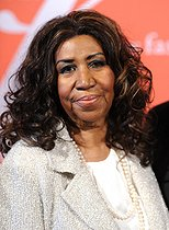 Aretha Franklin (1942-2018), auteur-compositeur et interprète américaine, lors de la 30ème édition annuelle de la Nuit des étoiles présentée par The Fashion Group International au Cipriani. Wall Street (New York, Etats-Unis), 22 octobre 2013. Photo : Pete Mariner. © Pete Mariner / TopFoto / Roger-Viollet