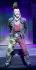 Arturo Brachetti (né en 1957), artiste italien, interprétant Sid Vicious (John Simon Ritchie, 1957-1979), musicien britannique et membre des Sex Pistols. Londres (Royaume-Uni), Garrick Theatre, 22 octobre 2009. Photo : Marilyn Kingwill. © Marilyn Kingwill / TopFoto / Roger-Viollet