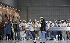 """Lady Macbeth of the Mtsensk District"", four-act opera composed by Dmitri Shostakovich. Conductor : Ingo Metzmacher. Direction : Krzysztof Warlikowski. Choreography : Claude Bardouil. Orchestra and chorus : Opéra national de Paris. Stage design and costumes : Małgorzata Szczęśniak. Lights : Felice Ross. Video: Denis Guéguin. Opera singers : Ausrine Stundyté and Pavel Cernoch. Paris, Opéra Bastille, on April 30, 2019. © Colette Masson / Roger-Viollet"