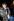 Anna Wintour (née en 1949) rédactrice anglaise, lors du défilé Alexander McQueen (1969-2010), créateur de mode britannique. Paris, mars 2003. © Gauthier Gallet / Roger-Viollet