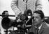 "Jacques Brel (1929-1978), Belgian singer-songwriter and actor. Shooting of his film ""Franz"". Blankenberg (Belgium), 9 June 1971. Photograph by André Perlstein (né en 1942). © André Perlstein / Roger-Viollet"