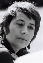 Annie Girardot (1931-2011), French actress. Photograph by André Perlstein (born in 1942). France, 1970. © André Perlstein / Roger-Viollet