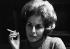 Nelly Kaplan (née en 1931 ou 1936 selon les sources), écrivaine et cinéaste française d'origine argentine. Photographie d'André Perlstein (né en 1942). France, 1969. © André Perlstein / Roger-Viollet